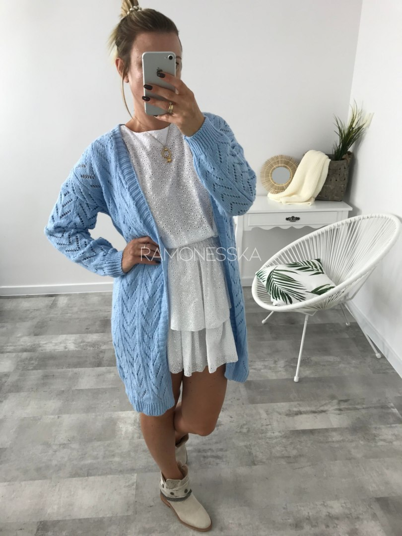 Sweter Wave Blue